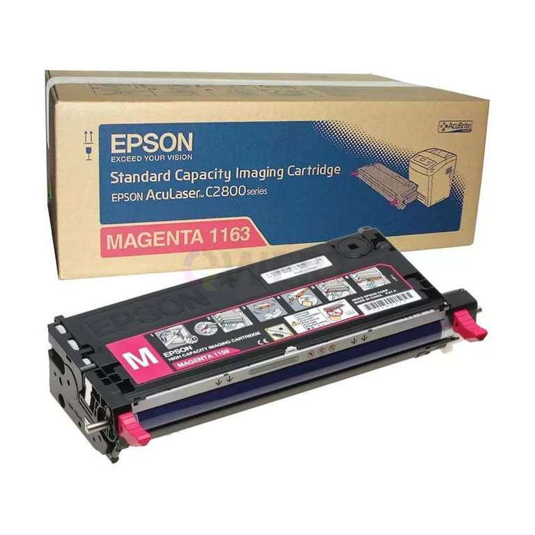 Заправка картриджа Epson 1163 (C13S051163)