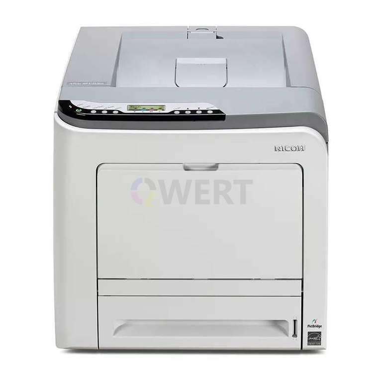 Ремонт принтера Ricoh Aficio SP C312DN