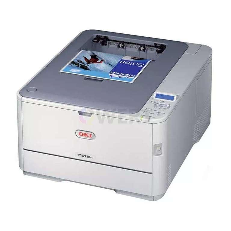 Ремонт принтера OKI C511dn