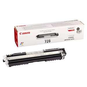 Заправка картриджа Canon Cartridge 729Bk