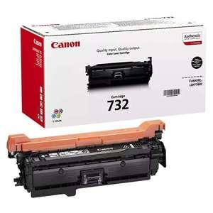 Заправка картриджа Canon Cartridge 732Bk