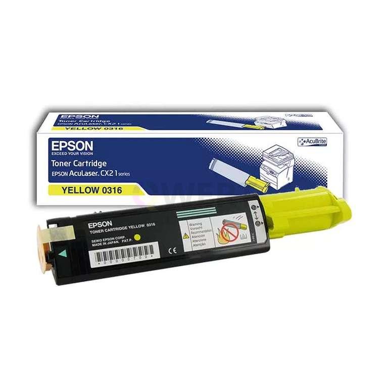 Заправка картриджа Epson 0316 (C13S050316)