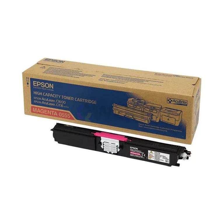 Заправка картриджа Epson 0555 (C13S050555)