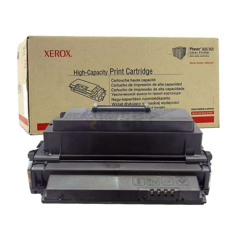 Совместимый картридж Xerox 106R01034