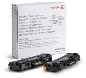 Тонер-картридж Xerox 106R04349 для B210/B205/B215 (2шт/уп)