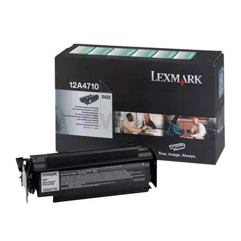 Заправка картриджа Lexmark 12A4710