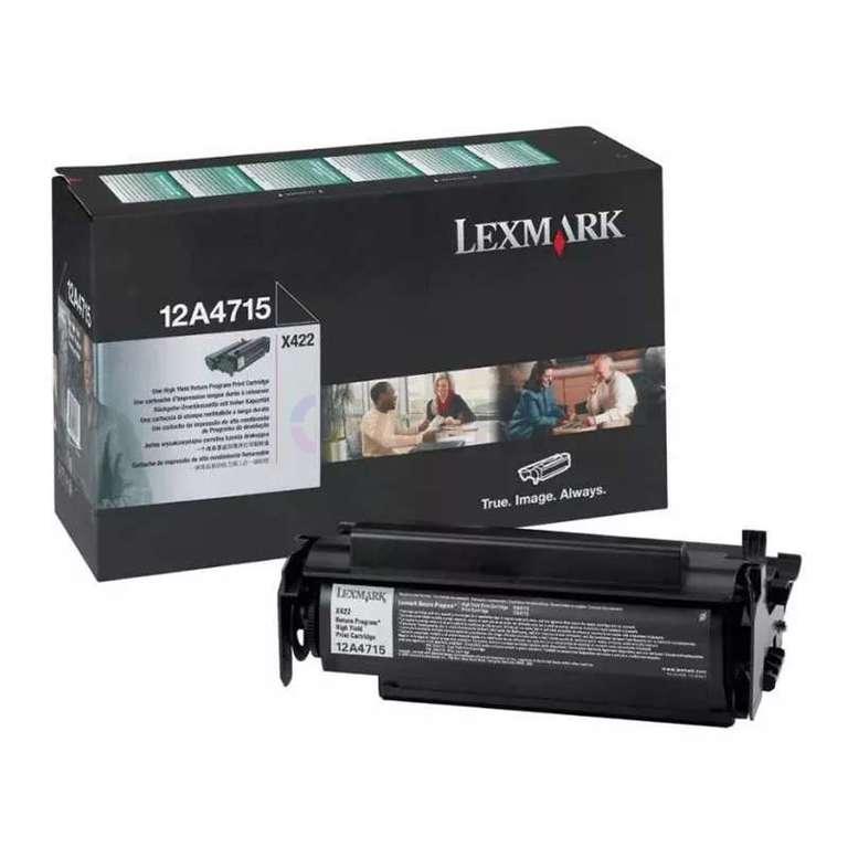 Заправка картриджа Lexmark 12A4715