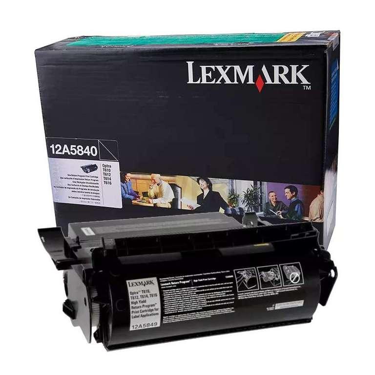 Заправка картриджа Lexmark 12A5840