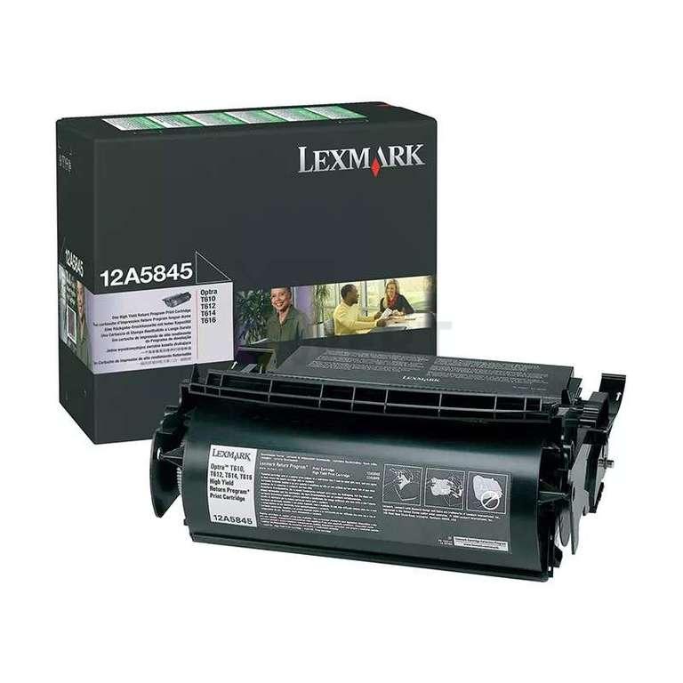 Заправка картриджа Lexmark 12A5845