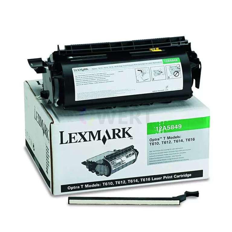 Заправка картриджа Lexmark 12A5849