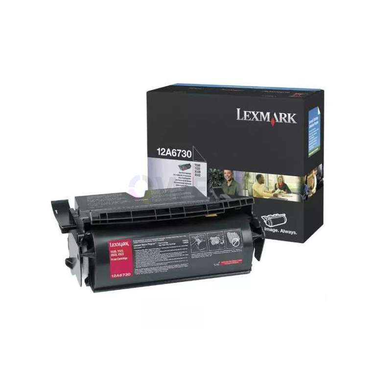 Заправка картриджа Lexmark 12A6730