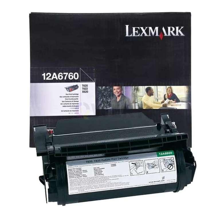 Заправка картриджа Lexmark 12A6760