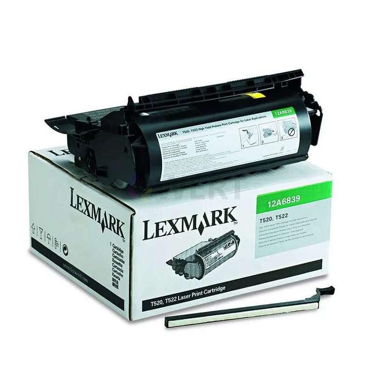 Заправка картриджа Lexmark 12A6839
