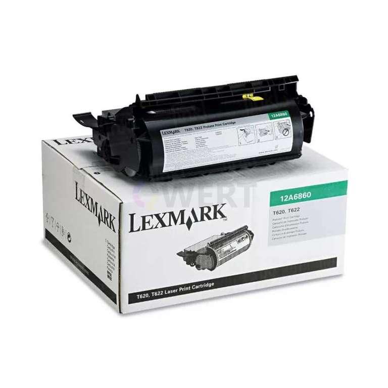 Заправка картриджа Lexmark 12A6860
