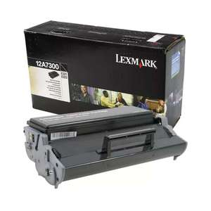 Заправка картриджа Lexmark 12A7300