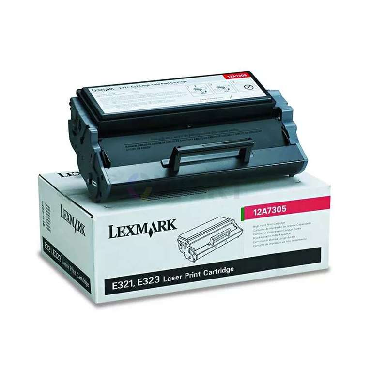 Заправка картриджа Lexmark 12A7305