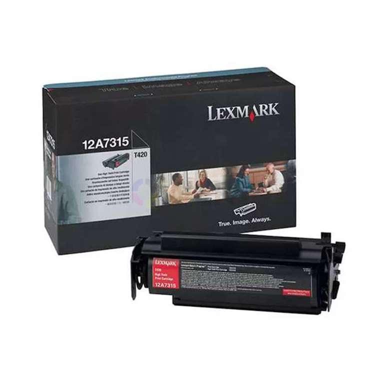 Заправка картриджа Lexmark 12A7315
