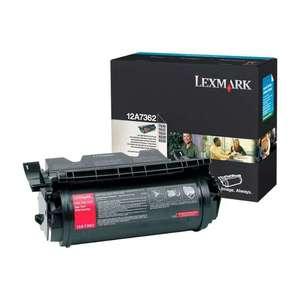 Заправка картриджа Lexmark 12A7362