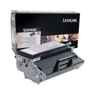 Заправка картриджа Lexmark 12A7400