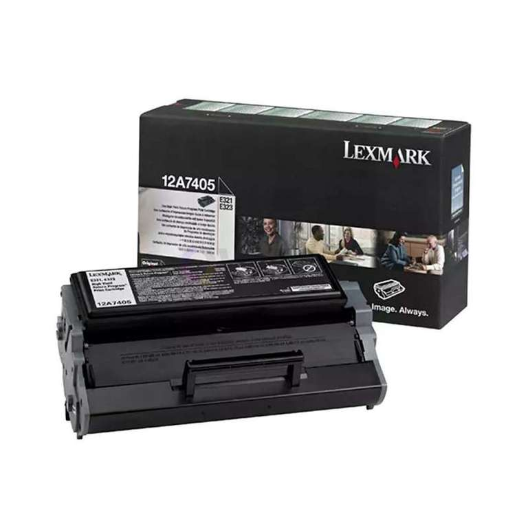 Заправка картриджа Lexmark 12A7405