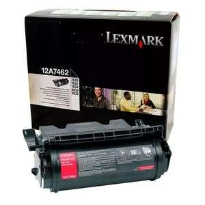 Заправка картриджа Lexmark 12A7462