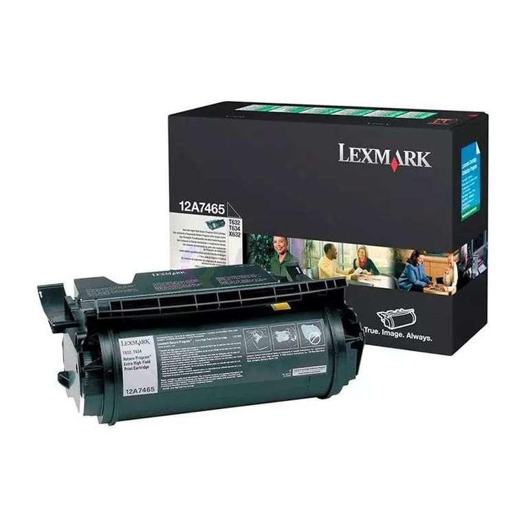 Заправка картриджа Lexmark 12A7465