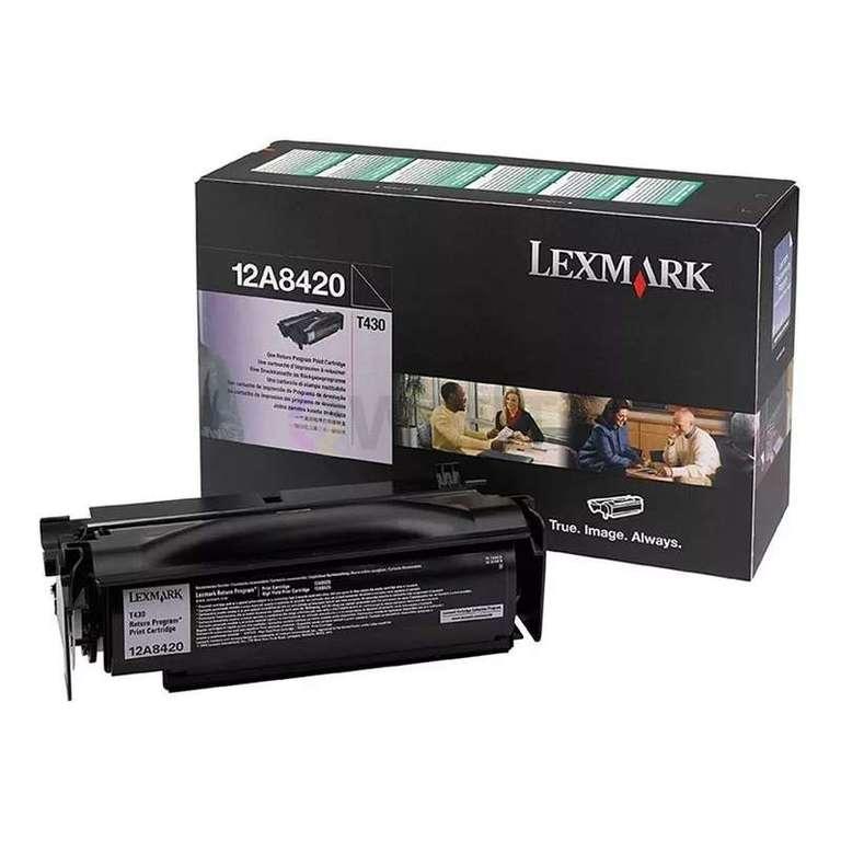 Заправка картриджа Lexmark 12A8420