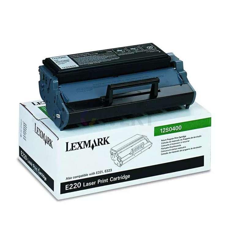 Заправка картриджа Lexmark 12S0400