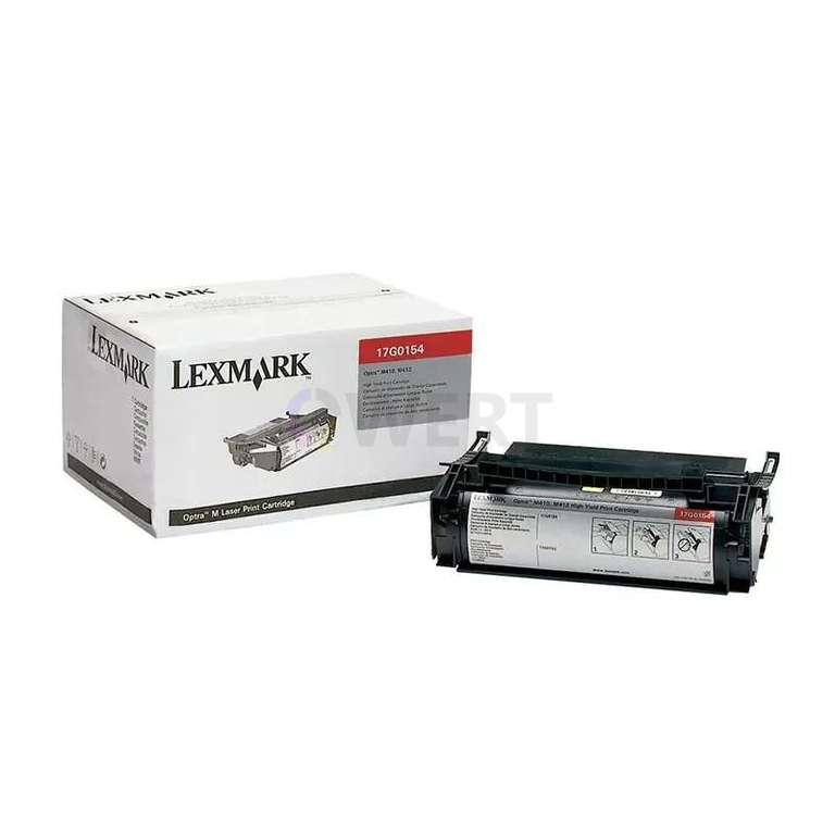 Заправка картриджа Lexmark 17G0154