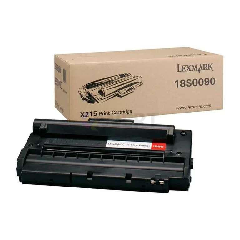 Заправка картриджа Lexmark 18S0090