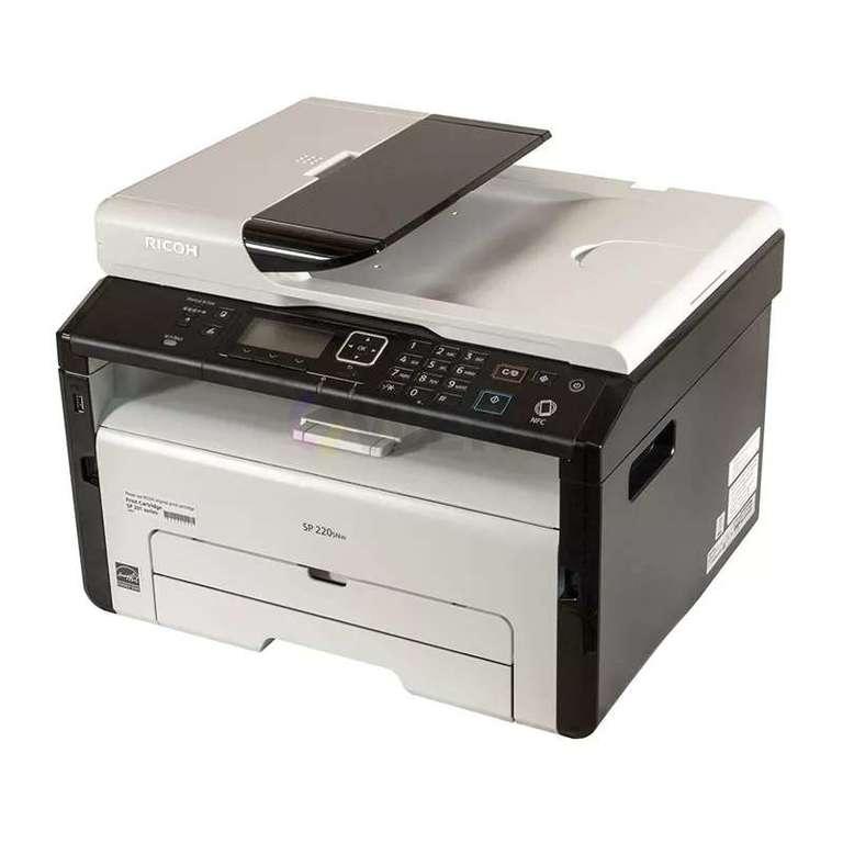 Ремонт принтера Ricoh SP 220SNw