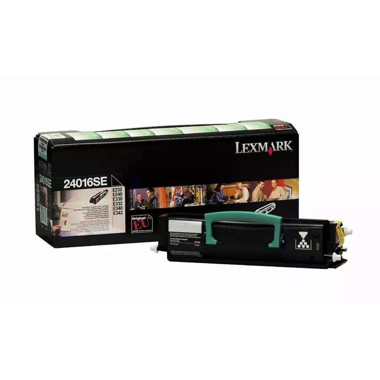Заправка картриджа Lexmark 24016SE