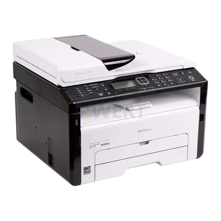Ремонт принтера Ricoh SP 277SFNwX