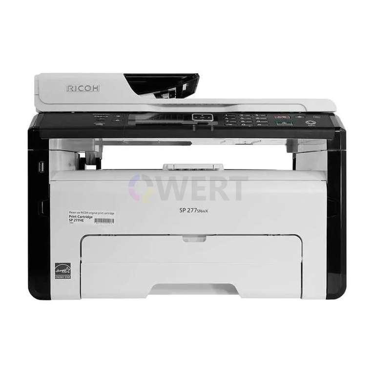 Ремонт принтера Ricoh SP 277SNwX