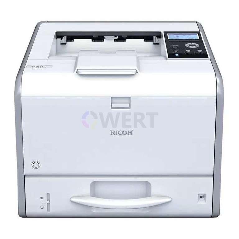 Ремонт принтера Ricoh SP 3600DN