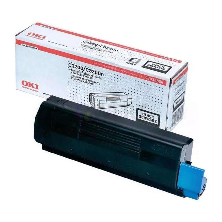 Заправка картриджа OKI 43034808