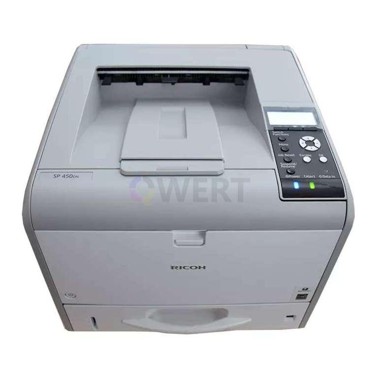 Ремонт принтера Ricoh SP 450DN
