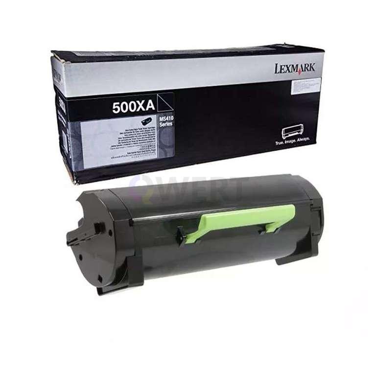 Заправка картриджа Lexmark 500XA (50F0XA0)