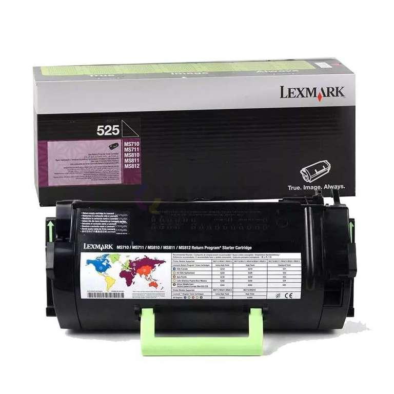 Заправка картриджа Lexmark 525 (52D5000)