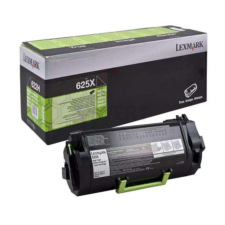 Заправка картриджа Lexmark 625X (62D5X00)