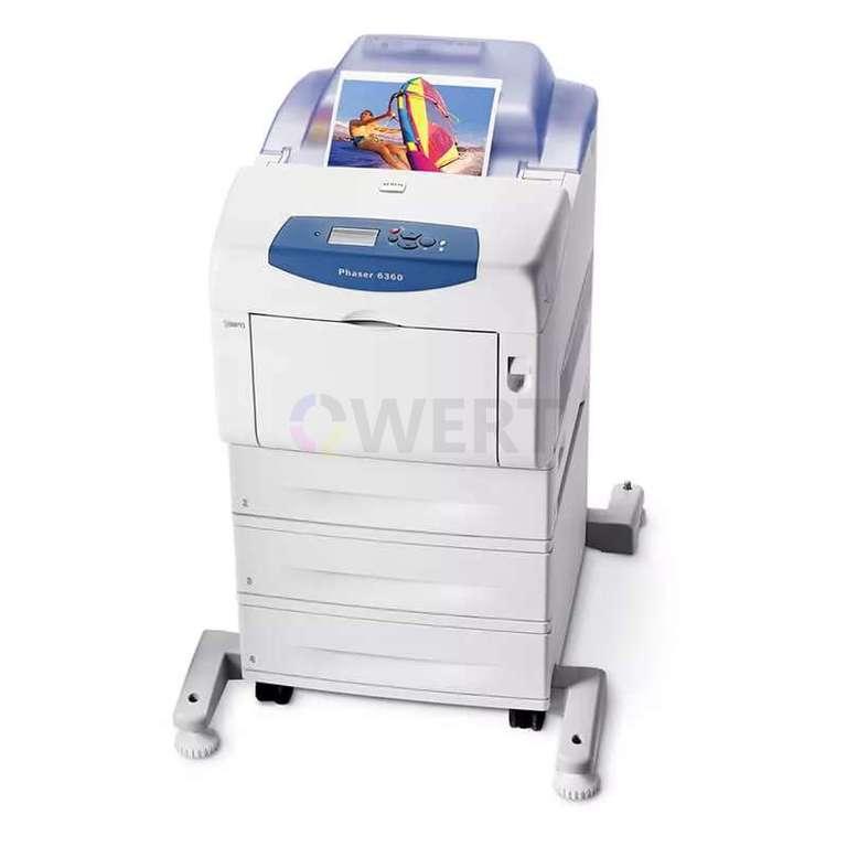 Ремонт принтера Xerox Phaser 6360