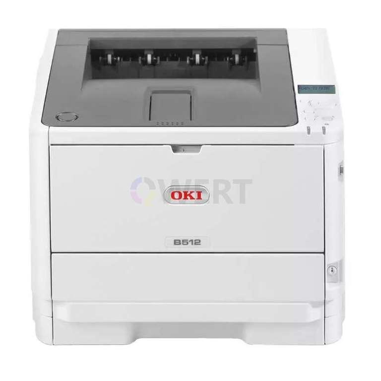 Ремонт принтера OKI B512dn