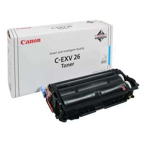 Заправка картриджа Canon C-EXV26C