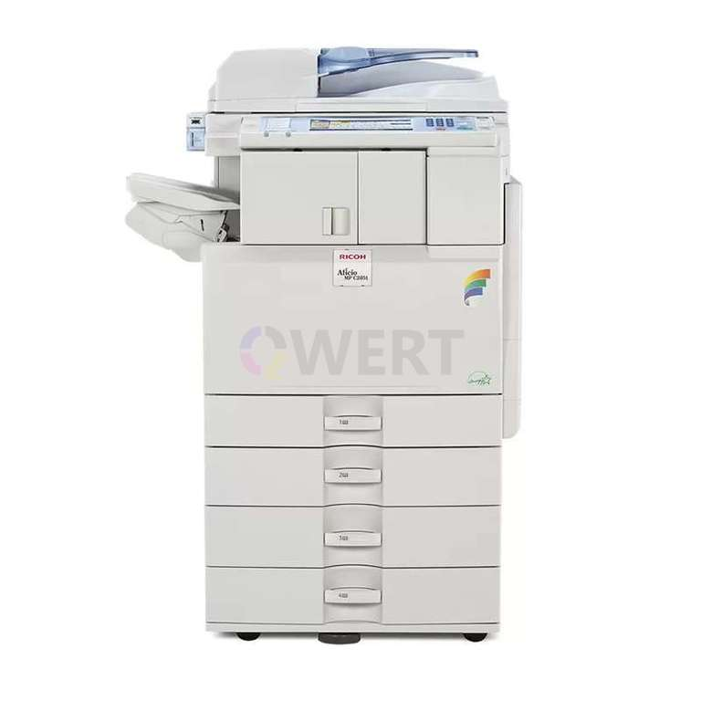 Ремонт принтера Ricoh Aficio MP C2051