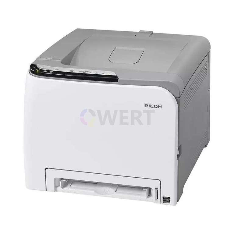 Ремонт принтера Ricoh Aficio SP C220N