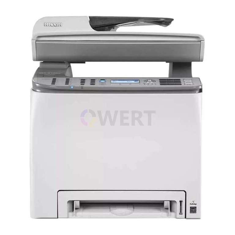 Ремонт принтера Ricoh Aficio SP C242SF