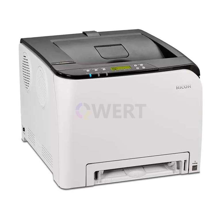 Ремонт принтера Ricoh Aficio SP C250DN