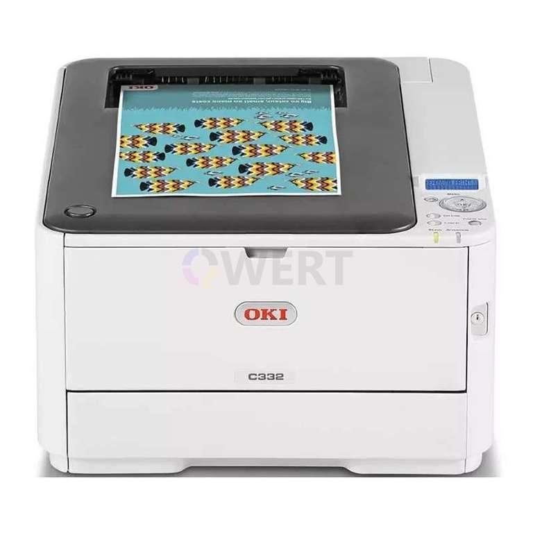 Ремонт принтера OKI C332dn