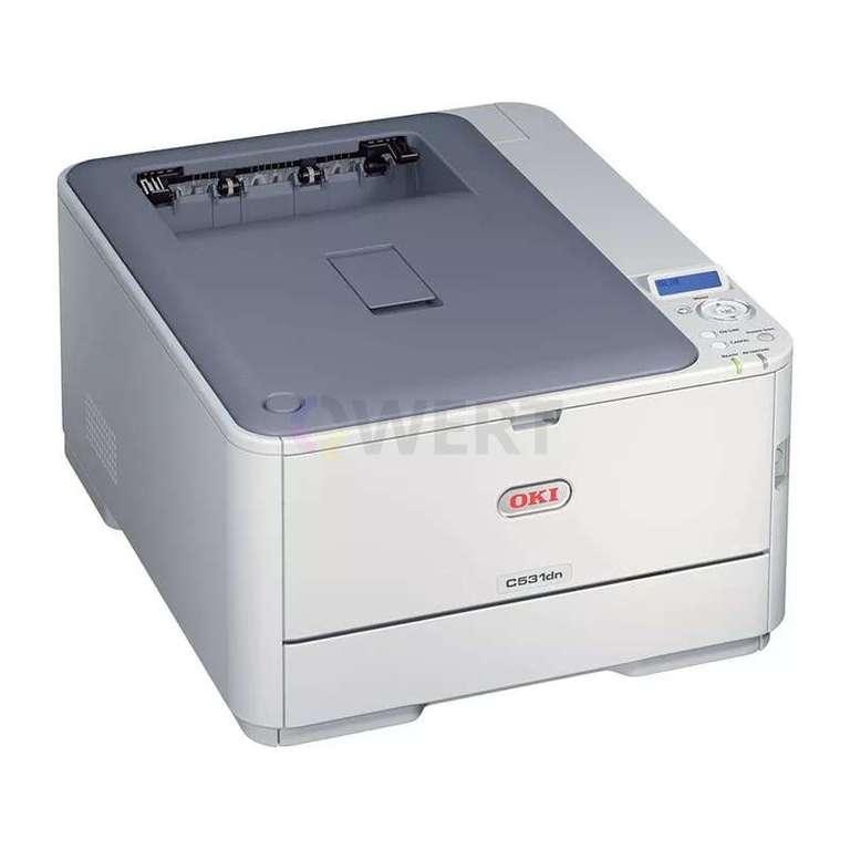 Ремонт принтера OKI C531dn
