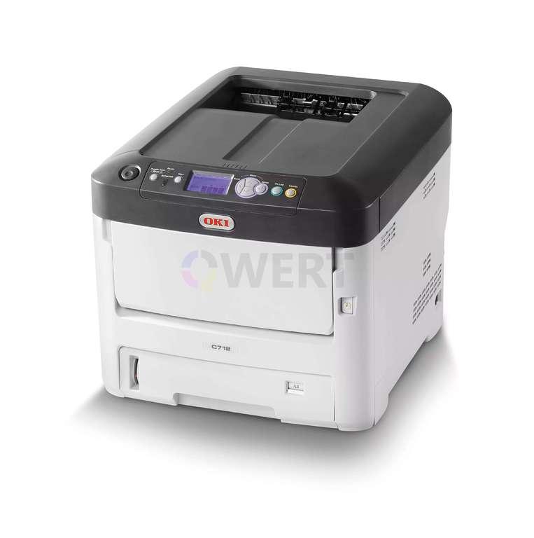 Ремонт принтера OKI C712dn